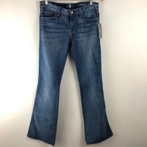 7 For All Mankind Jeans - 7 For All Mankind Flare A Pocket Mid Rise Jeans 26